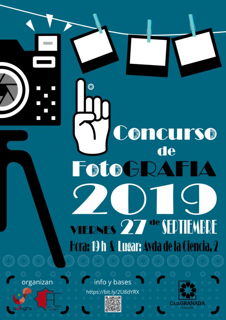 Cartel 1º Concurso Fotografía 2019