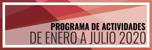 Programa de Actividades de Enero a Junio 2020